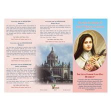 NOVENA IN HONOR OF ST. THERESE