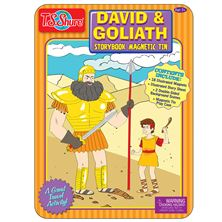 MAGNETIC TIN - DAVID AND GOLIATH