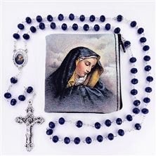 OUR LADY OF SORROWS ROSARY WITH POUCH