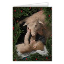 BEHOLD THE LAMB OF GOD CHRISTMAS CARDS (BOX OF 25)