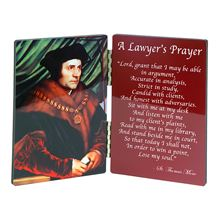 ST. THOMAS MORE LAWYER'S PRAYER DIPTYCH