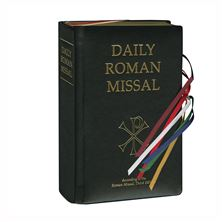 THE NEW DAILY ROMAN MISSAL - BLACK BONDED