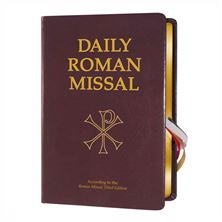 THE NEW DAILY ROMAN MISSAL - BURGUNDY BONDED