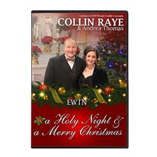 CHRISTMAS WITH COLLIN RAYE - CD/DVD COMBO