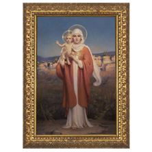 "OUR LADY OF PALESTINE BY CHAMBERS - 14 1/2"" x 20 1/2"""