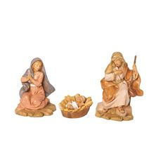 "FONTANINI 5"" HOLY FAMILY SET - CENTENNIAL COLLECTION"