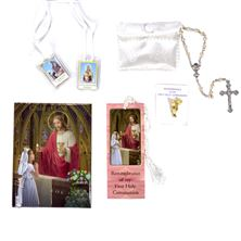 DELUXE FIRST COMMUNION GIFT SET - GIRL'S