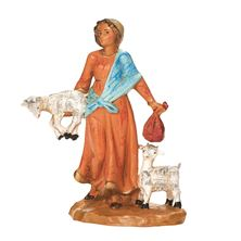"MELIA GOAT HERDER - FONTANINI 5"" NATIVITY COLLECTION"
