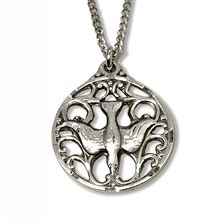 HOLY SPIRIT STERLING SILVER PENDANT