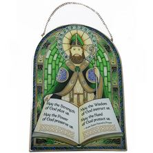 SAINT PATRICK GLASS SUNCATCHER