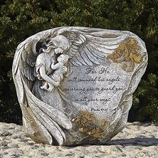 GUARDIAN ANGEL GARDEN STONE