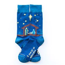 NATIVITY SCENE - ADULT SOCKS