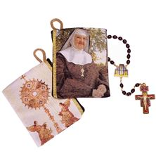 OUR LADY OF THE ANGELS ROSARY and ROSARY POUCH SET