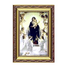 "OUR LADY OF THE ANGELS FRAMED ARTWORK - 16"" X 24"""