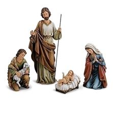 4-PIECE NATIVITY SET (18-INCH)