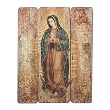 OUR LADY OF GUADALUPE PANEL PLAQUE