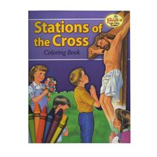 COLORING BOOK ABOUT THE STATIONS OF THE CROSS