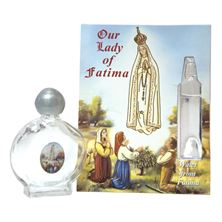 HOLY WATER BOTTLE WITH WATER FROM FATIMA