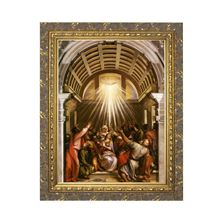 THE PENTECOST BY TITIAN - FRAMED PRINT