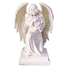 GUARDIAN ANGEL WITH CHILD VERONESE STATUE