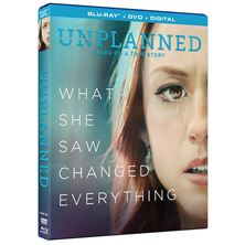 UNPLANNED - BLU-RAY + DIGITAL and DVD COMBO