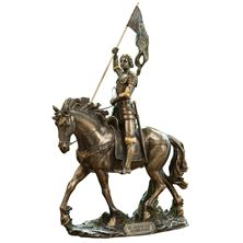 ST. JOAN OF ARC - BRONZE STATUE