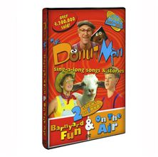 BARNYARD FUN and ON THE AIR - DONUT MAN DVD