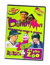 DONUT MAN ALL-STARS and AT THE ZOO - DVD