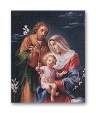 HOLY FAMILY FINE ART STRETCHED CANVAS PRINT