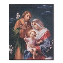 "HOLY FAMILY FINE ART STRETCHED CANVAS PRINT - 8"" X 10"""