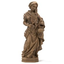 KITCHEN MADONNA WOODTONE STATUE