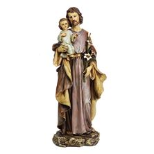 ST. JOSEPH AND CHILD JESUS STATUE