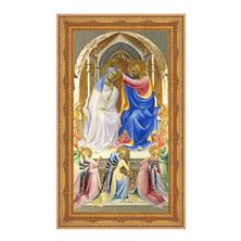 "THE CORONATION OF THE VIRGIN  -  Lorenzo Monaco - 11"" x 18 1/2"""