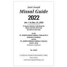 GUIDE FOR SUNDAY and WEEKDAY MISSAL - 2021