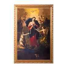 MARY UNDOER OF KNOTS FRAMED PICTURE (7 X 10)