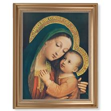 "OUR LADY OF GOOD COUNSEL - 13 1/2"" X 16 1/2"""