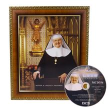 MOTHER ANGELICA FRAMED ART WITH FREE DVD