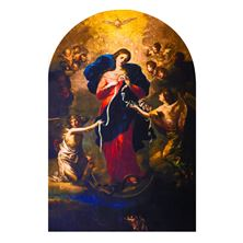 MARY UNDOER OF KNOTS - ARCHED MAGNET