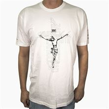 CRUCIFIX LIVE TRUTH LIVE CATHOLIC T-SHIRT