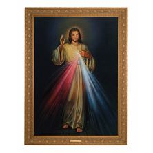 "DIVINE MERCY CANVAS TRANSFER 33"" x 45"""