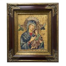 OUR LADY OF PERPETUAL HELP FRAMED ARTWORK