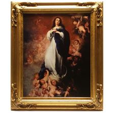 IMMACULATE CONCEPTION CANVAS TRANSFER
