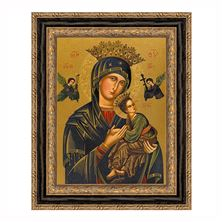 OUR LADY OF PERPETUAL HELP CANVAS TRANSFER