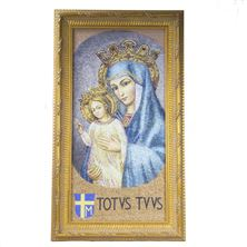 MATER ECCLESIAE WITH TOTUS TUUS FRAMED (LARGE)