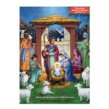 HOLY MANGER ADVENT CALENDAR WITH CHOCOLATES