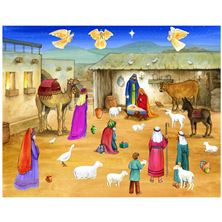 BETHLEHEM'S CHILD - STICKER ADVENT CALENDAR