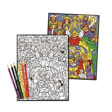 COLORFUL NATIVITY - COLOR BY NUMBER ADVENT CALENDAR