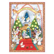 O HOLY NIGHT - GREETING CARD ADVENT CALENDAR