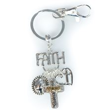 FAITH DANGLE CLIP-ON KEY CHAIN
