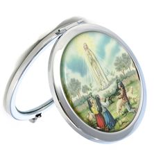 OUR LADY OF FATIMA - DUO-IMAGE COMPACT MIRROR